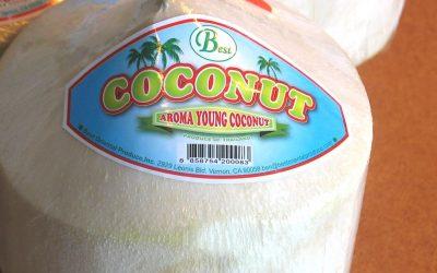 Comment couper facilement une noix de coco thaï