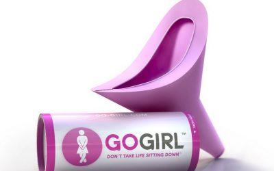 Pour femmes seulement… la toilette portative Go Girl