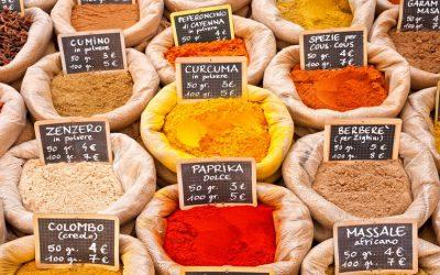 Épices, condiments et aliments réchauffants pour l'hiver