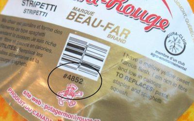 Lire les étiquettes des fruits & légumes #code PLU & OGM