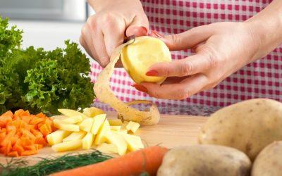 Peler ou ne pas peler fruits et légumes