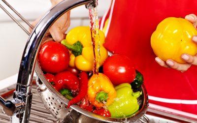 Laver fruits & légumes… plusieurs techniques