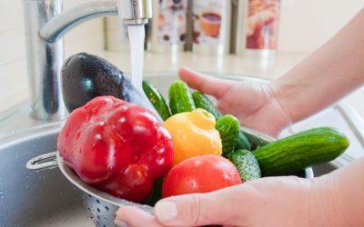 Ma méthode pour laver fruits et légumes