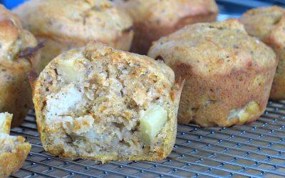 Muffin sans gluten à courge d'hiver
