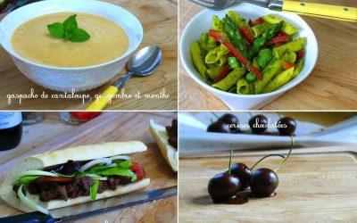 Pique-niques, potlucks et lunchs en plein air