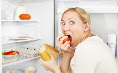 Combinaisons alimentaires de base et la faim des émotions