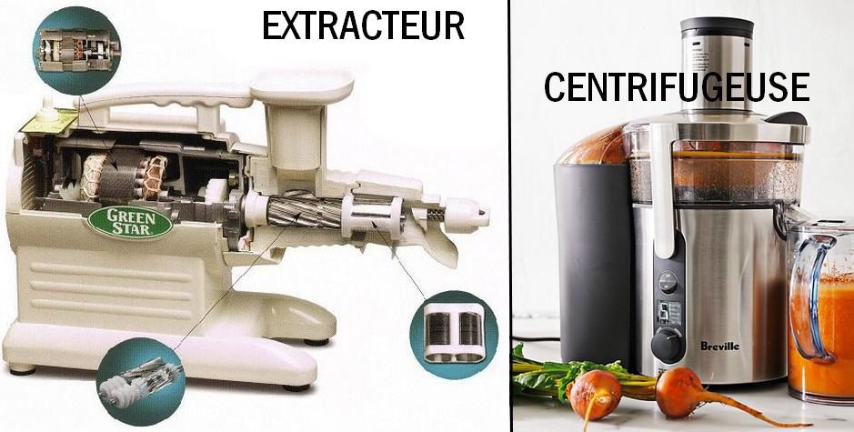 extracteur a jus masticateur centrifugeuse
