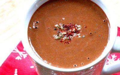 Chocolat chaud crémeux – antidépression saisonnière