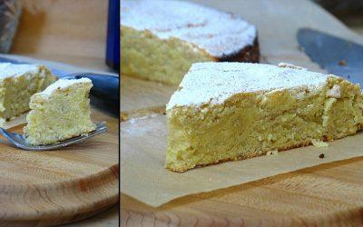 Gâteau de polenta au citron et cardamome, sans gluten