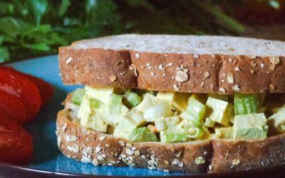 Sandwich aux oeufs… sans oeufs