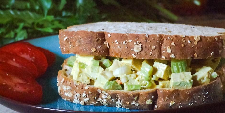 Sandwich aux oeufs... sans oeufs