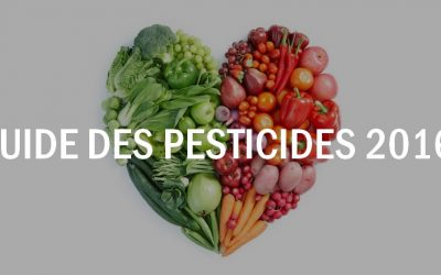 14 salopards à éviter et 15 sortables – Guide des pesticides 2016